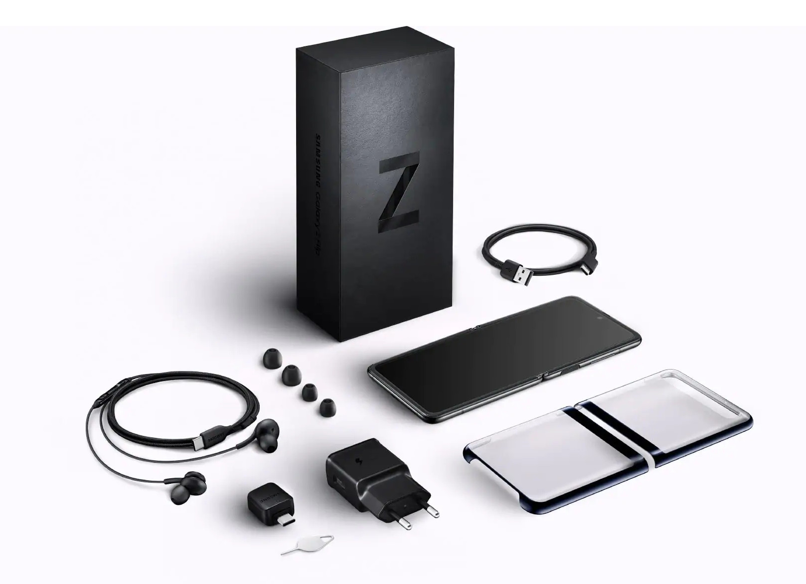 Smartphone Samsung Galaxy Z Flip - The ultimate 2020 - What's in the box - Review - Best price in UAE - Darahim.net