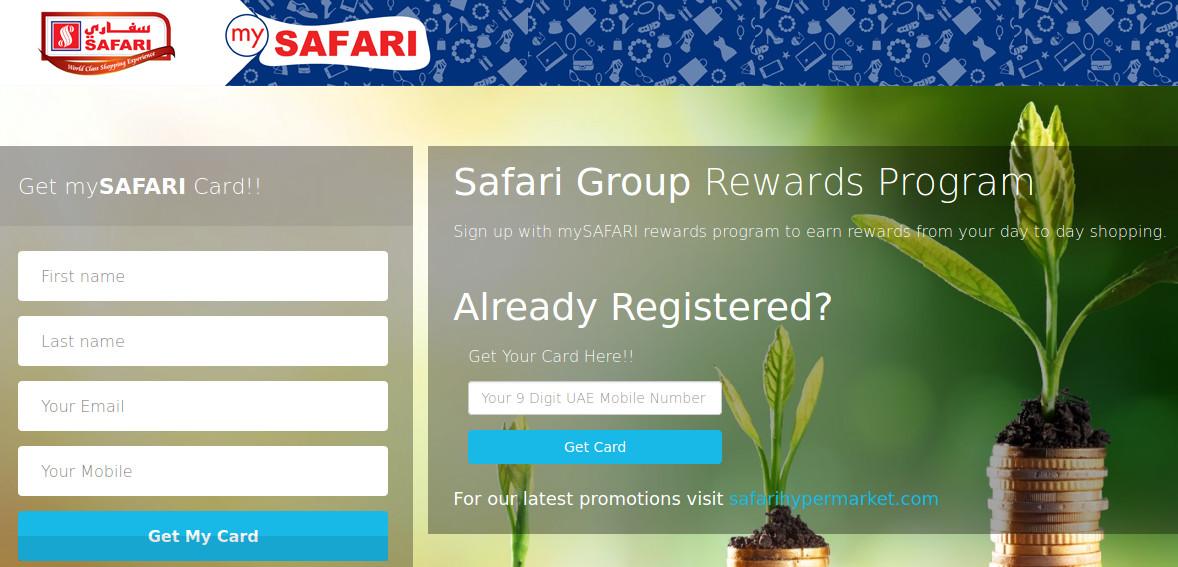 MySafari Card Rewards Program