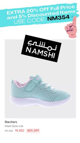 Namshi discount promo coupon code voucher offer