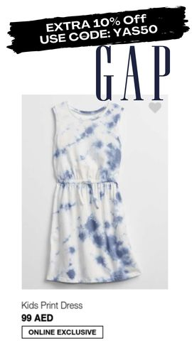 GAP discount promo coupon code voucher offer